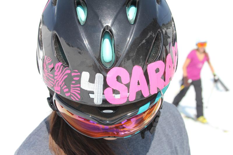 10. ski for sarah