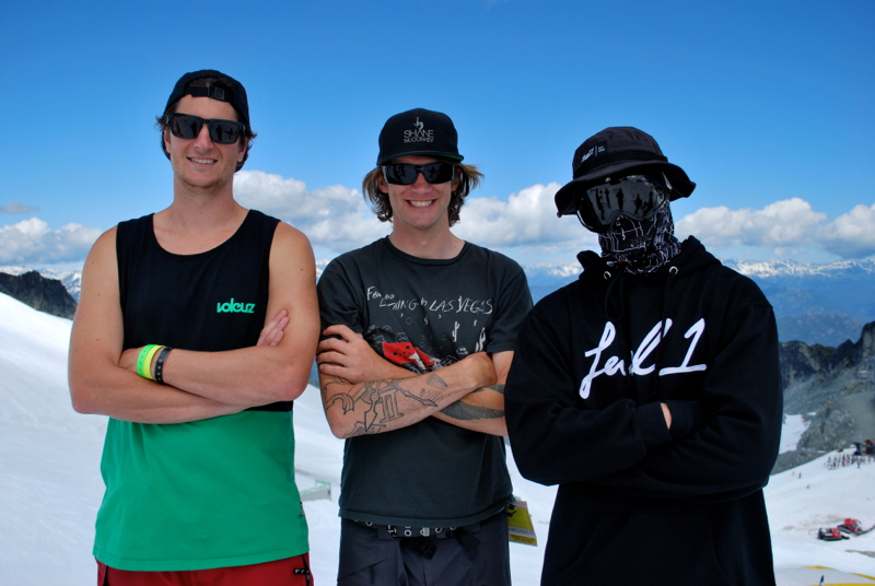 Darren Rayner, Blake Jorgenson, Josh Berman