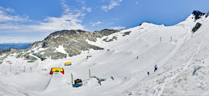 Blackcomb Glacier Skiing Camps
