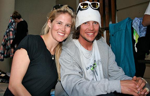 Sarah and Rory