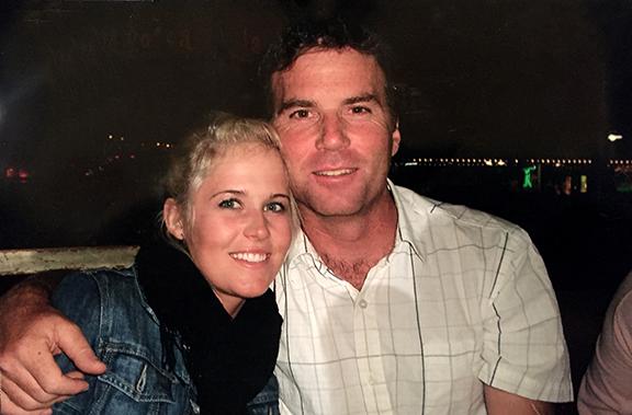 Sarah Burke and John Smart