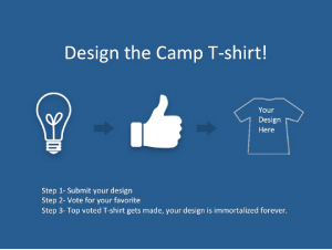 SoapBox – Design the Camp T-Shirt