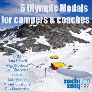 6 Medals at 2014 Sochi Winter Olympics