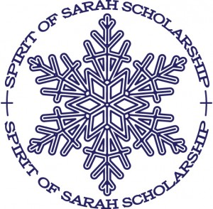 Winner of the 2013 Spirit of Sarah Scholarship