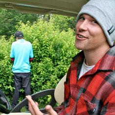 TJ Schiller Goes Golfing…